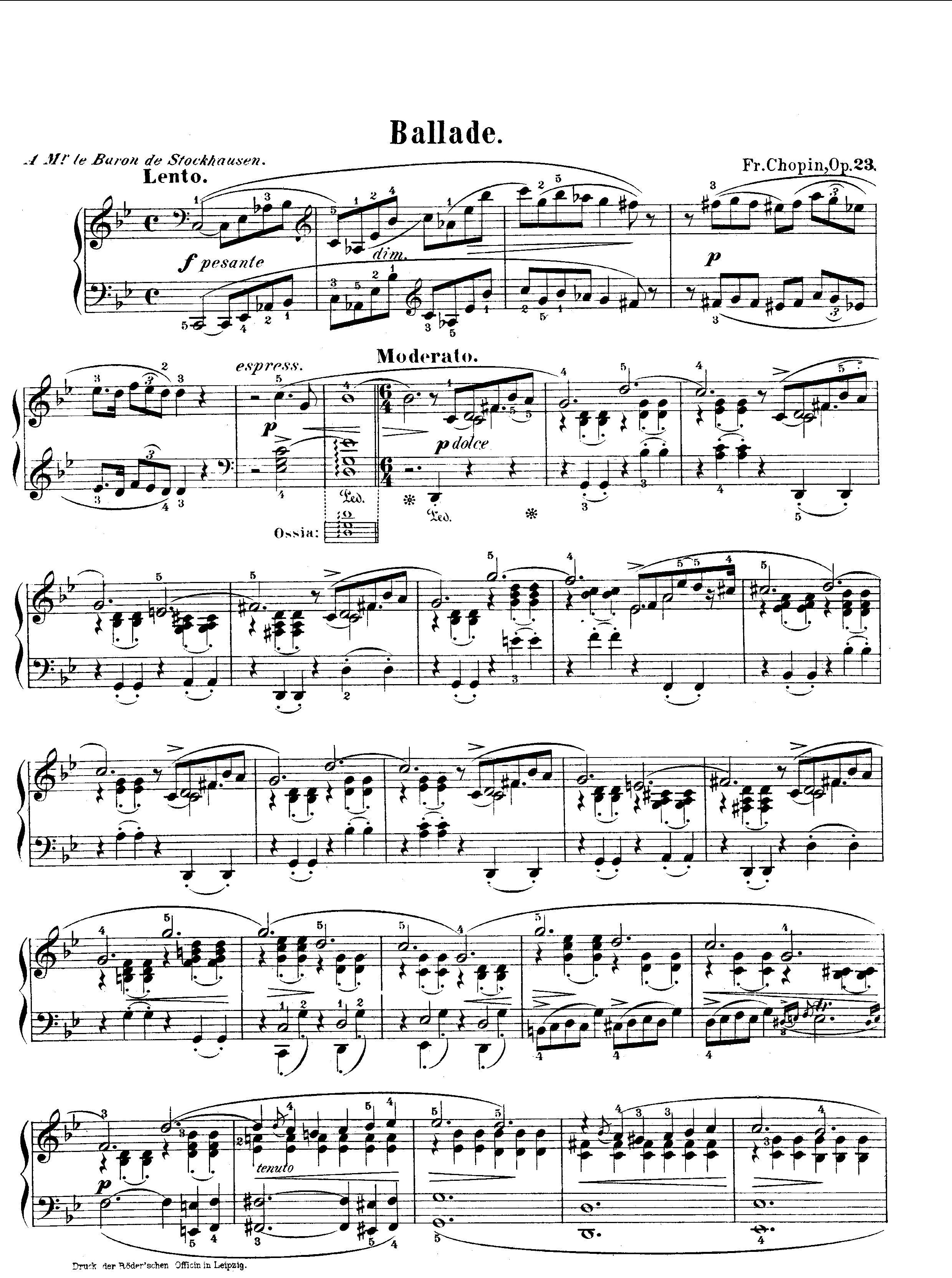 楽譜 幻想 即興 曲